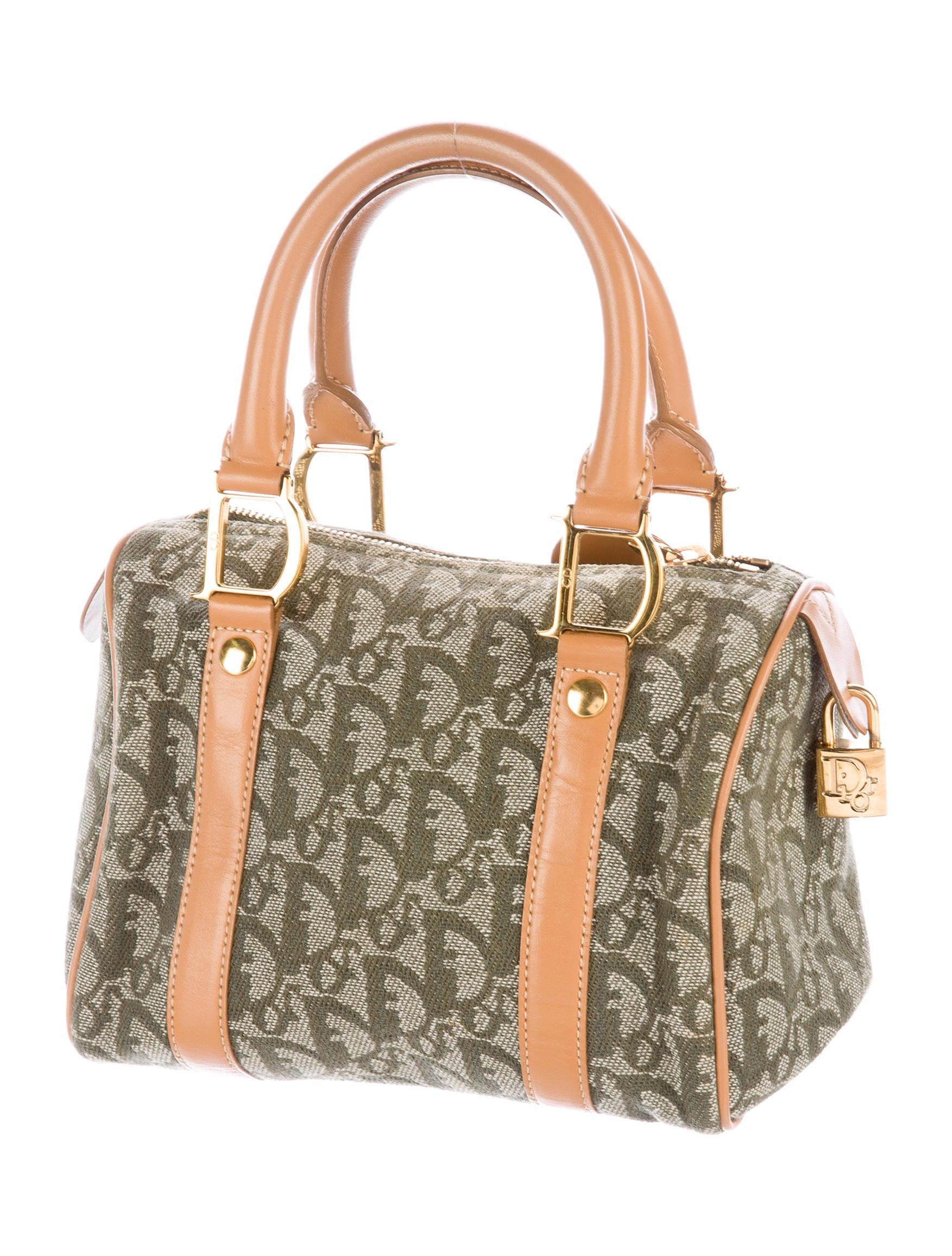 Boston Bag Patchwork Tutorial: Christian Dior Mini Diorissimo Boston Bag