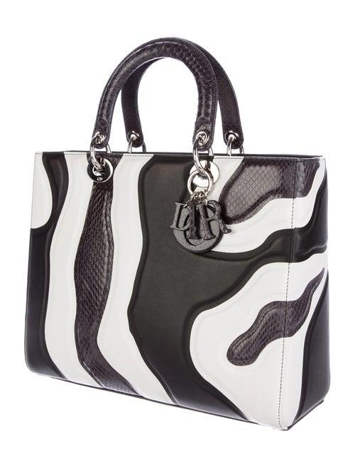 4b99b6e1221ed Christian Dior 2015 Large Calfskin   Ayers Lady Dior Bag - Handbags ...