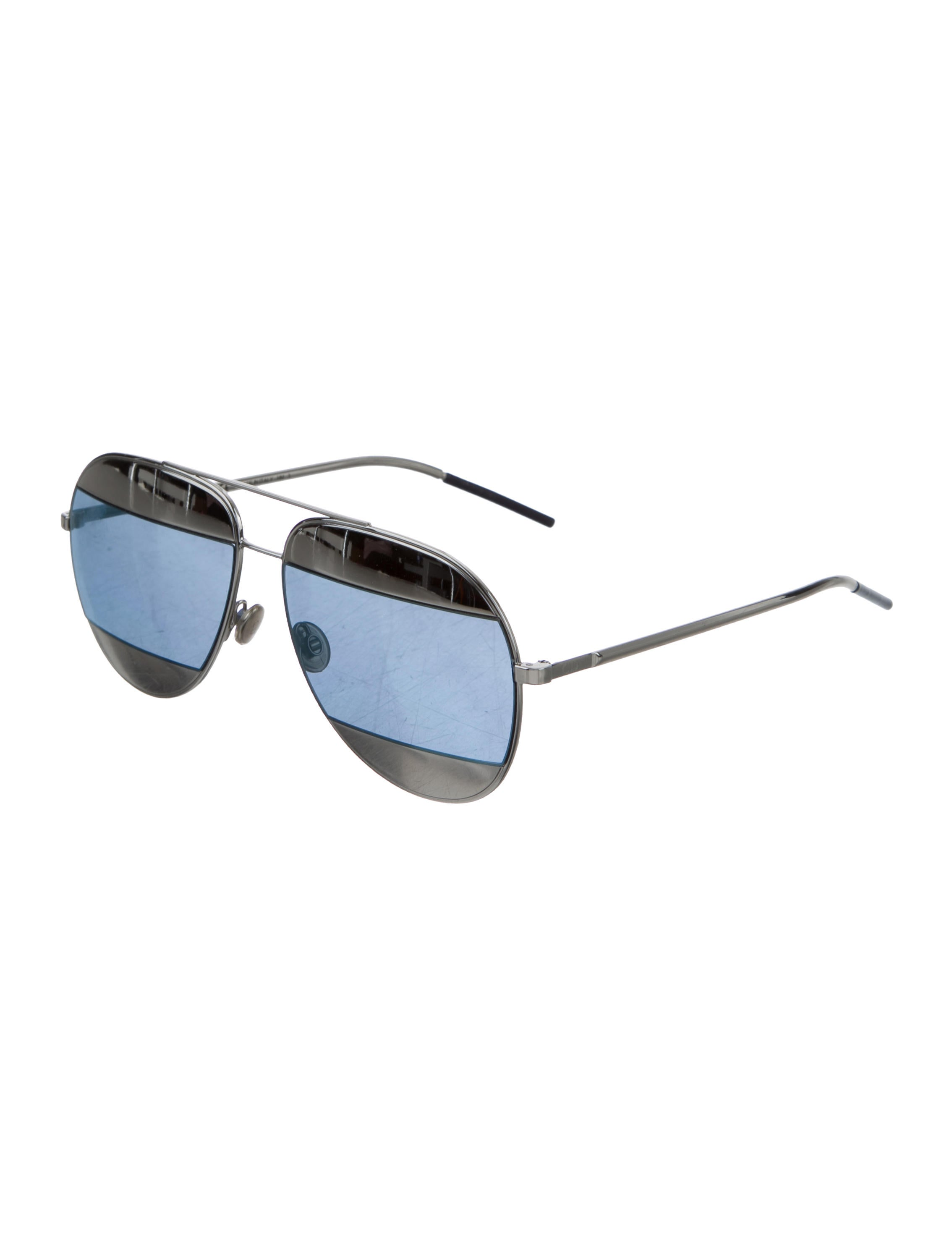 b57925b829 Christian Dior Split 1 Aviator Sunglasses - Accessories - CHR55170