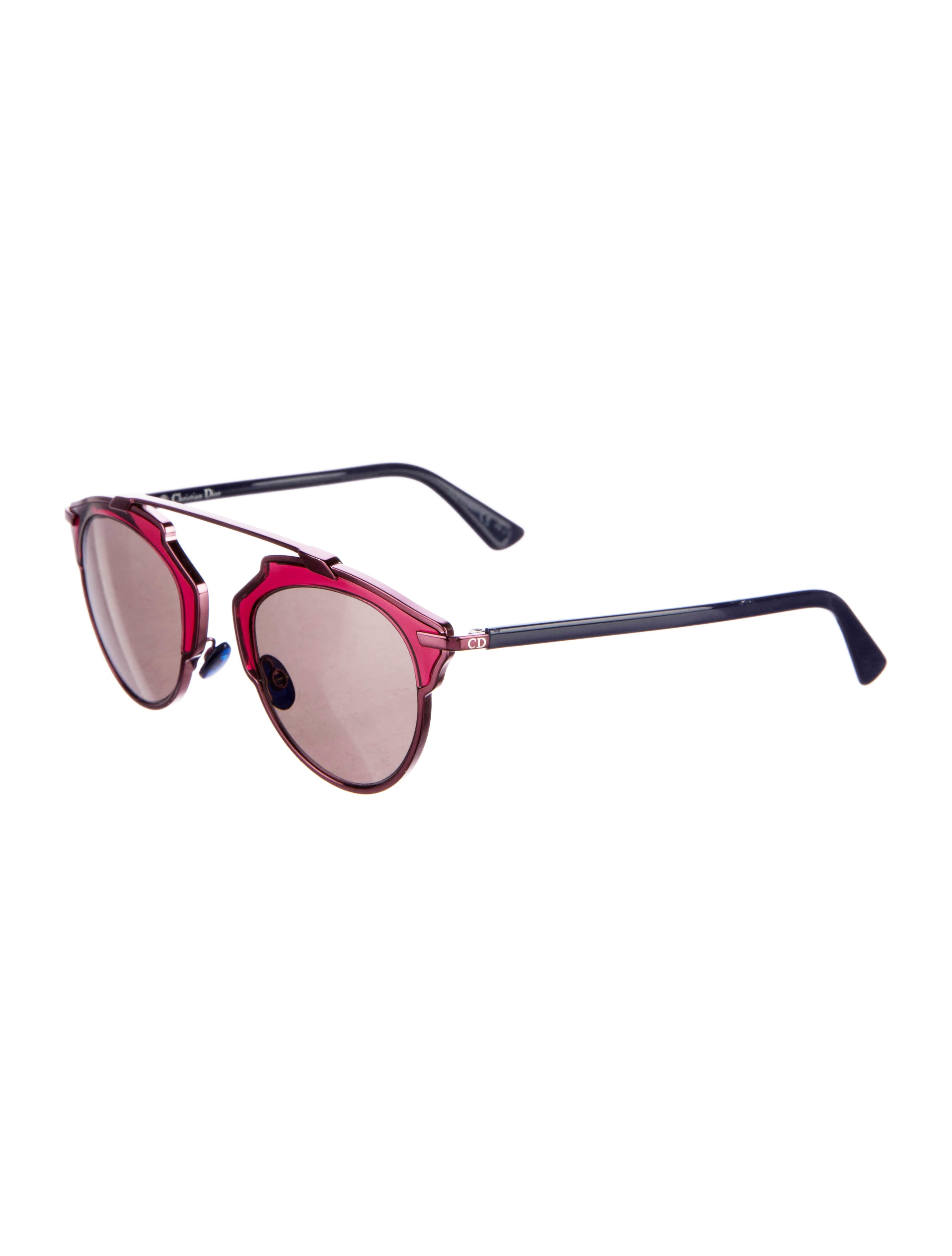 8d00313065 Christian Dior So Real Mirrored Sunglasses - Accessories - CHR55209