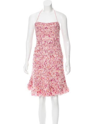 Christian Dior Silk Halter Dress w/ Tags None