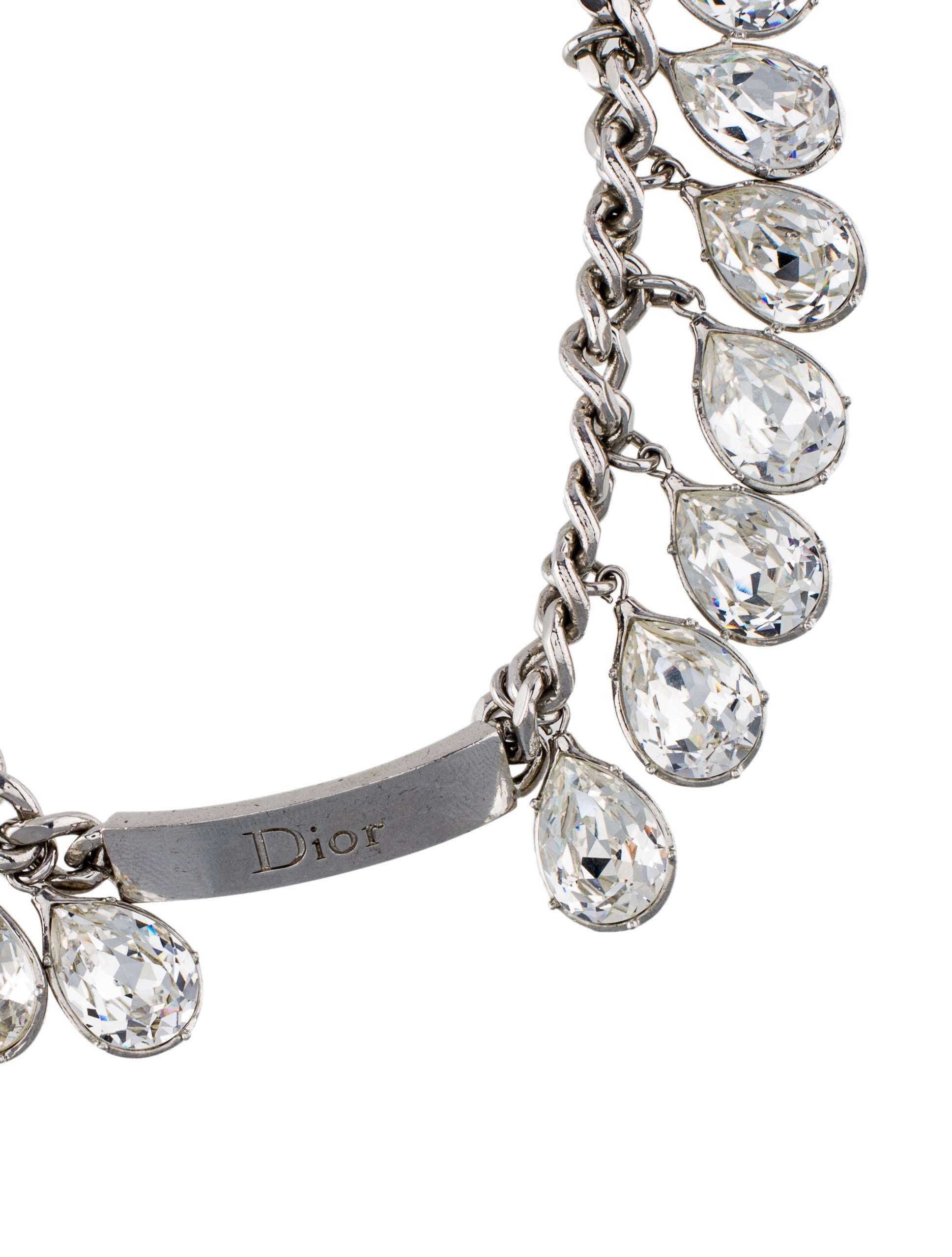 Christian Dior Crystal Necklace Necklaces Chr56048