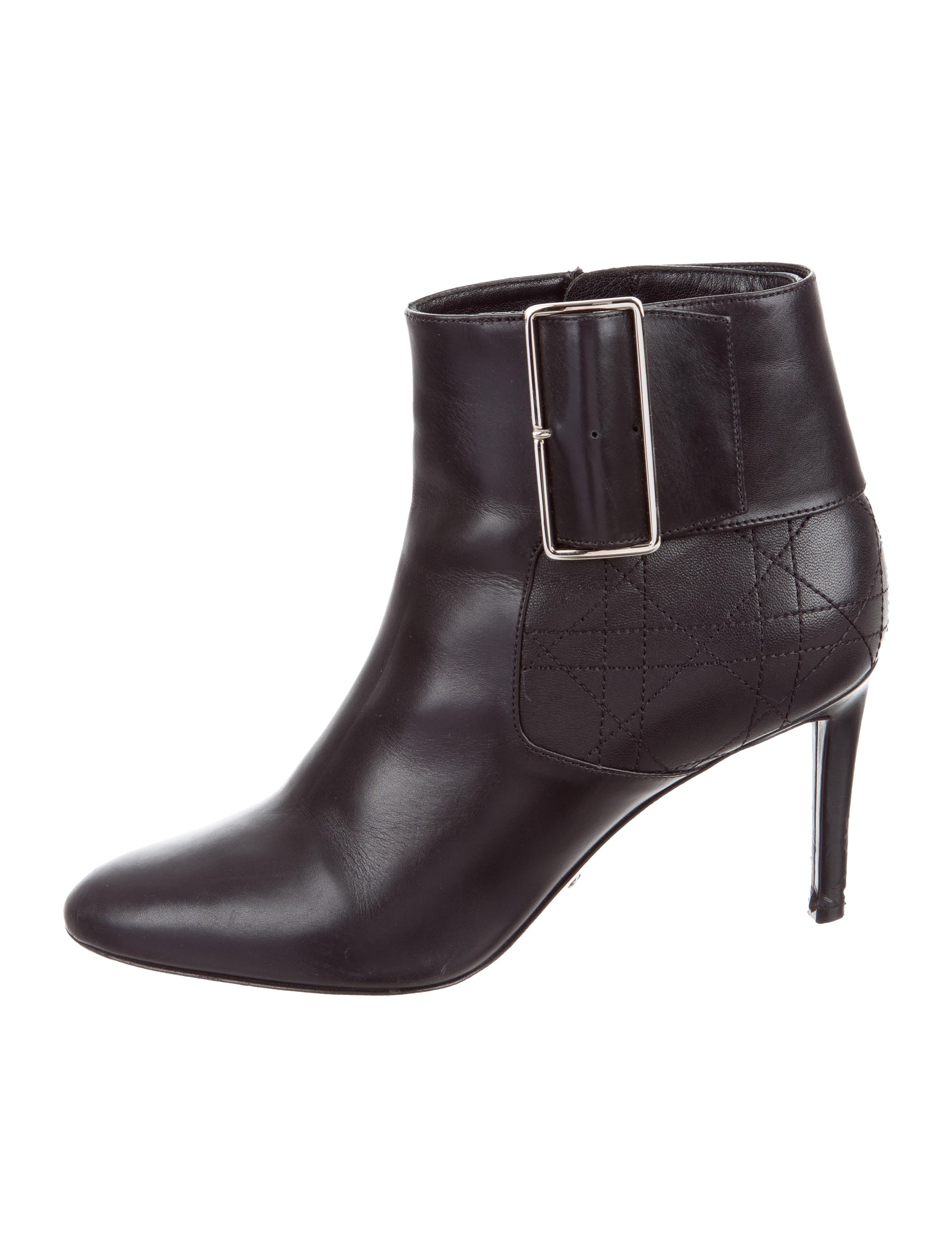 for sale wholesale price cheap explore Christian Dior Leather Cannage Ankle Boots footlocker pictures for sale cheap sale store fX7idcXGN