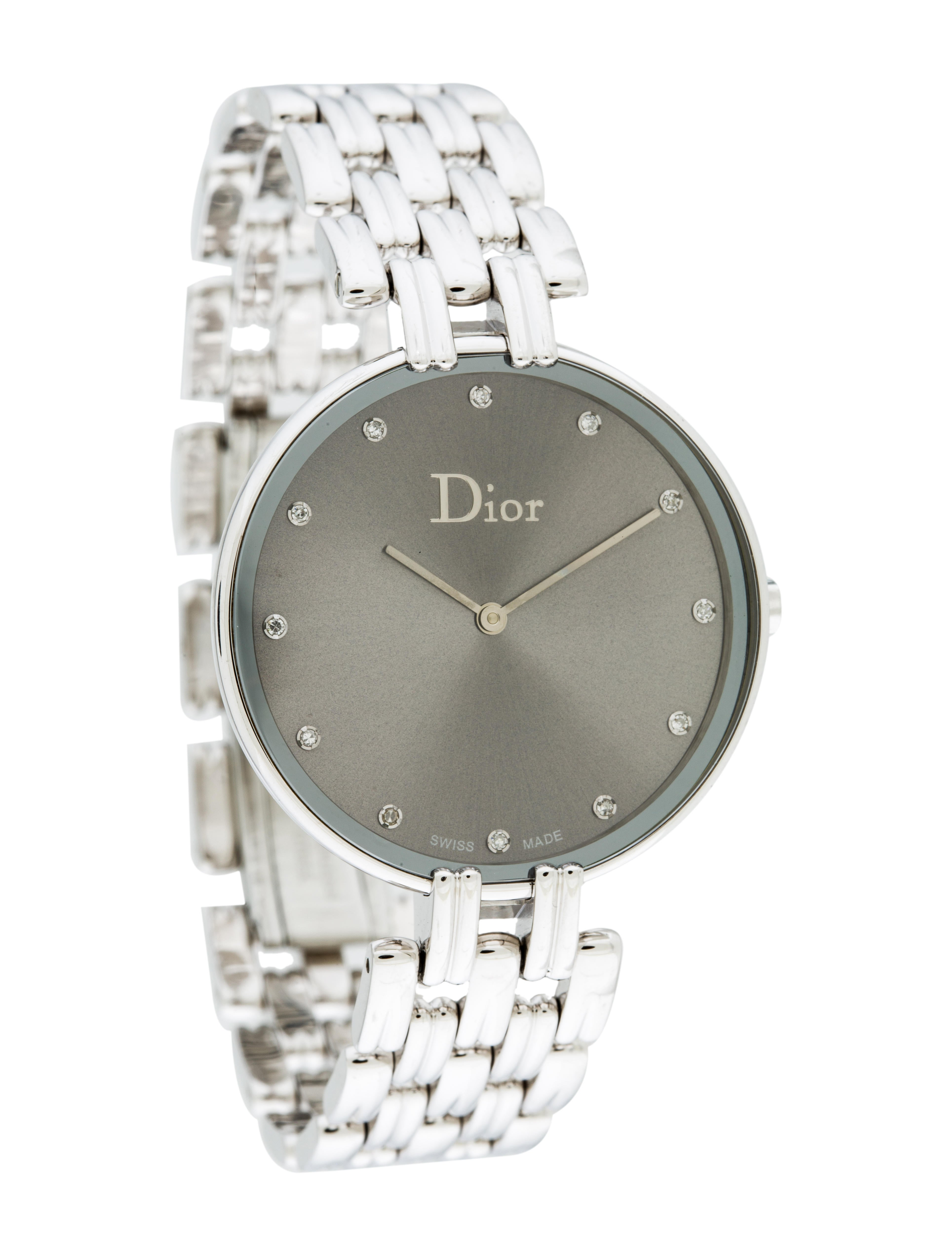 Christian dior bagheera watch bracelet chr56730 the realreal for Christian dior watches