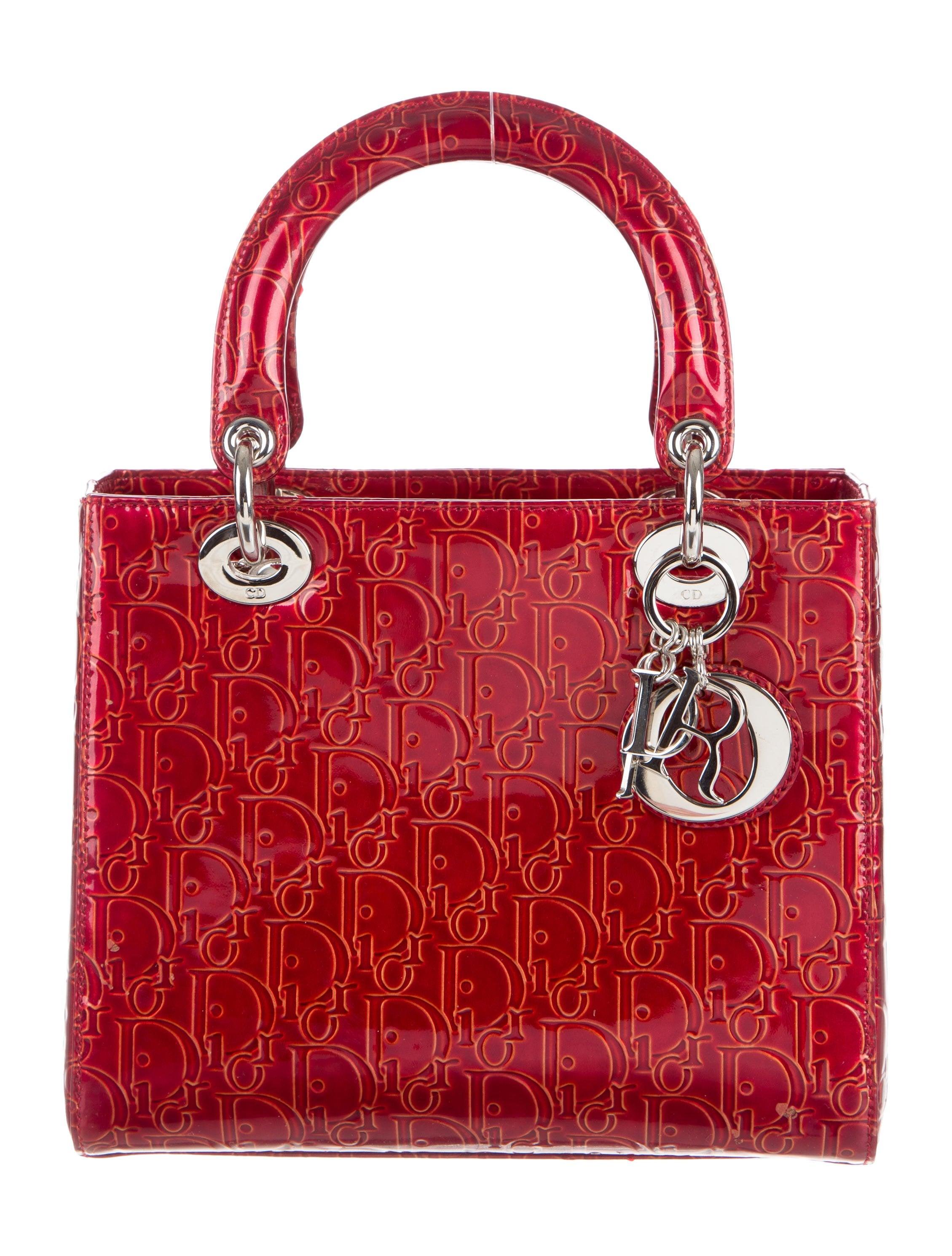 Christian Dior Medium Diorissimo Lady Dior Bag - Handbags ...