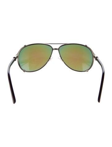 efca67dd4ca Christian Dior Chicago2 Aviator Sunglasses - Accessories - CHR57270