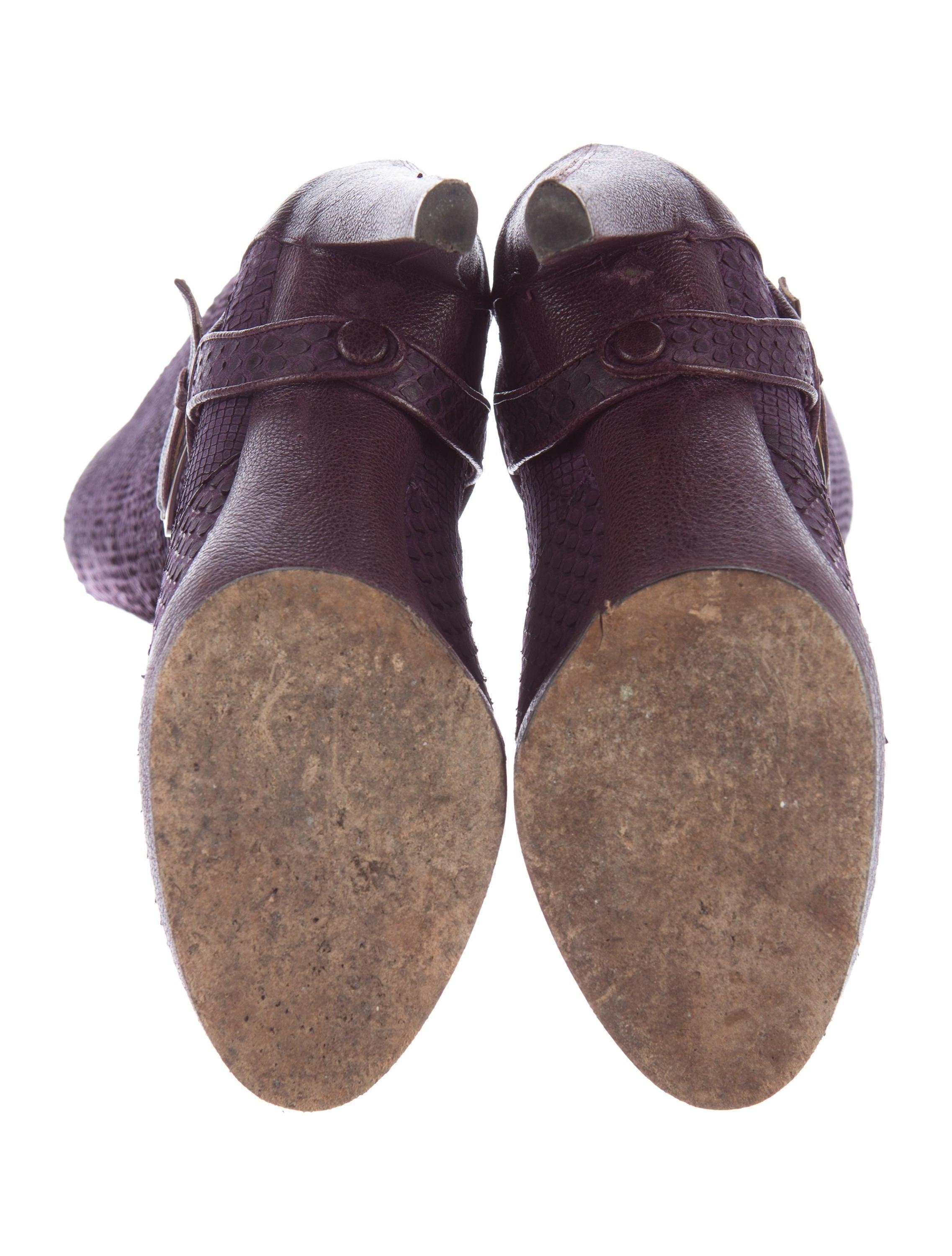 Christian Dior Tsar Python Boots Shoes Chr57293 The