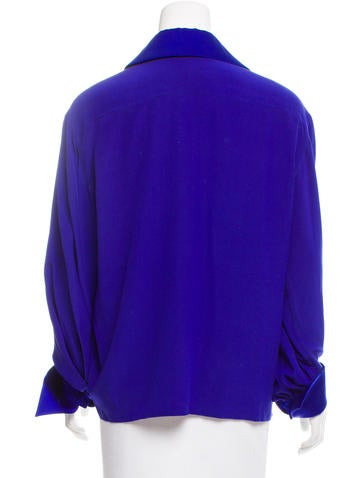 Christian dior button up long sleeve blouse clothing for Christian dior button up shirt