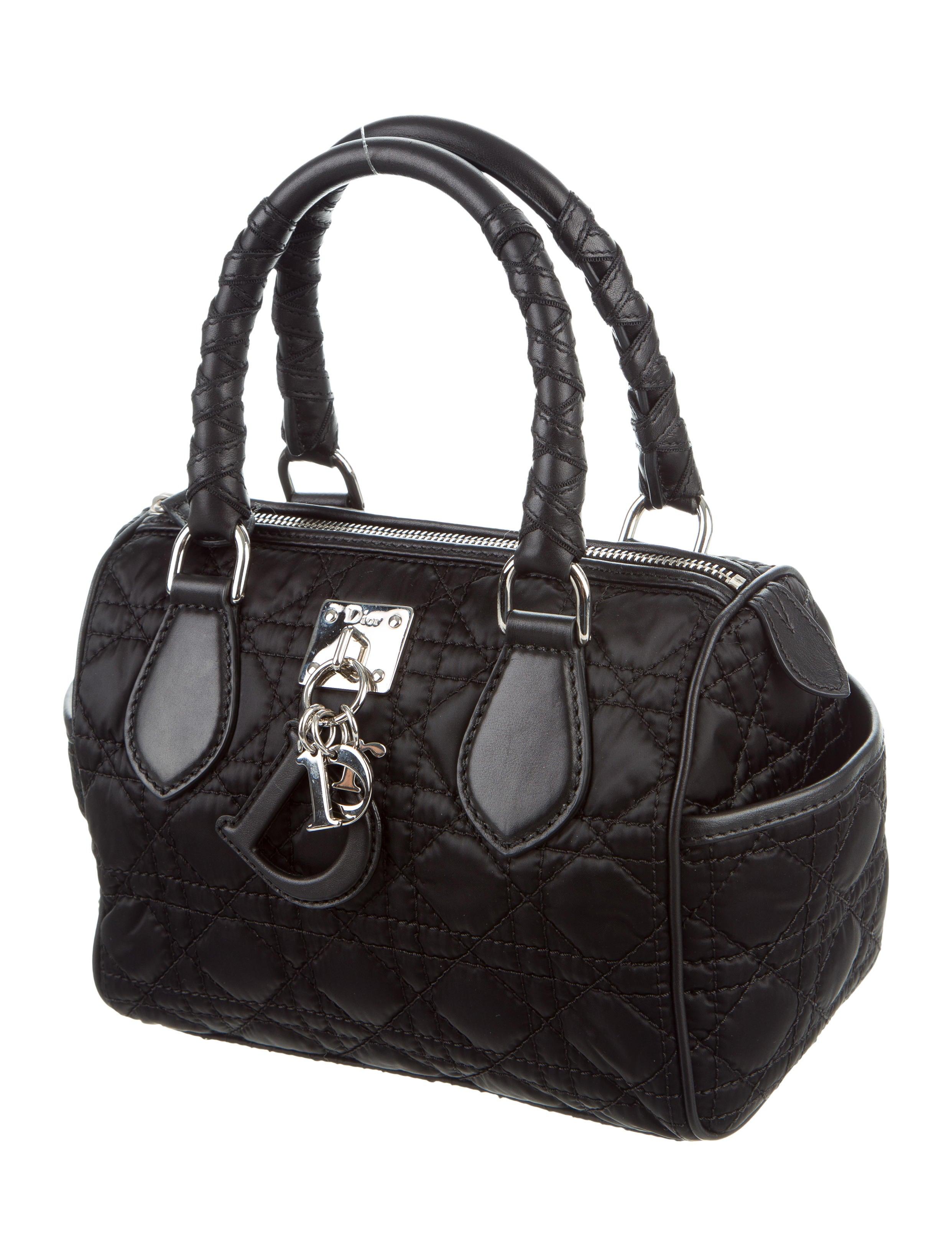 Boston Bag Patchwork Tutorial: Christian Dior Mini Boston Bag - Handbags - CHR57756