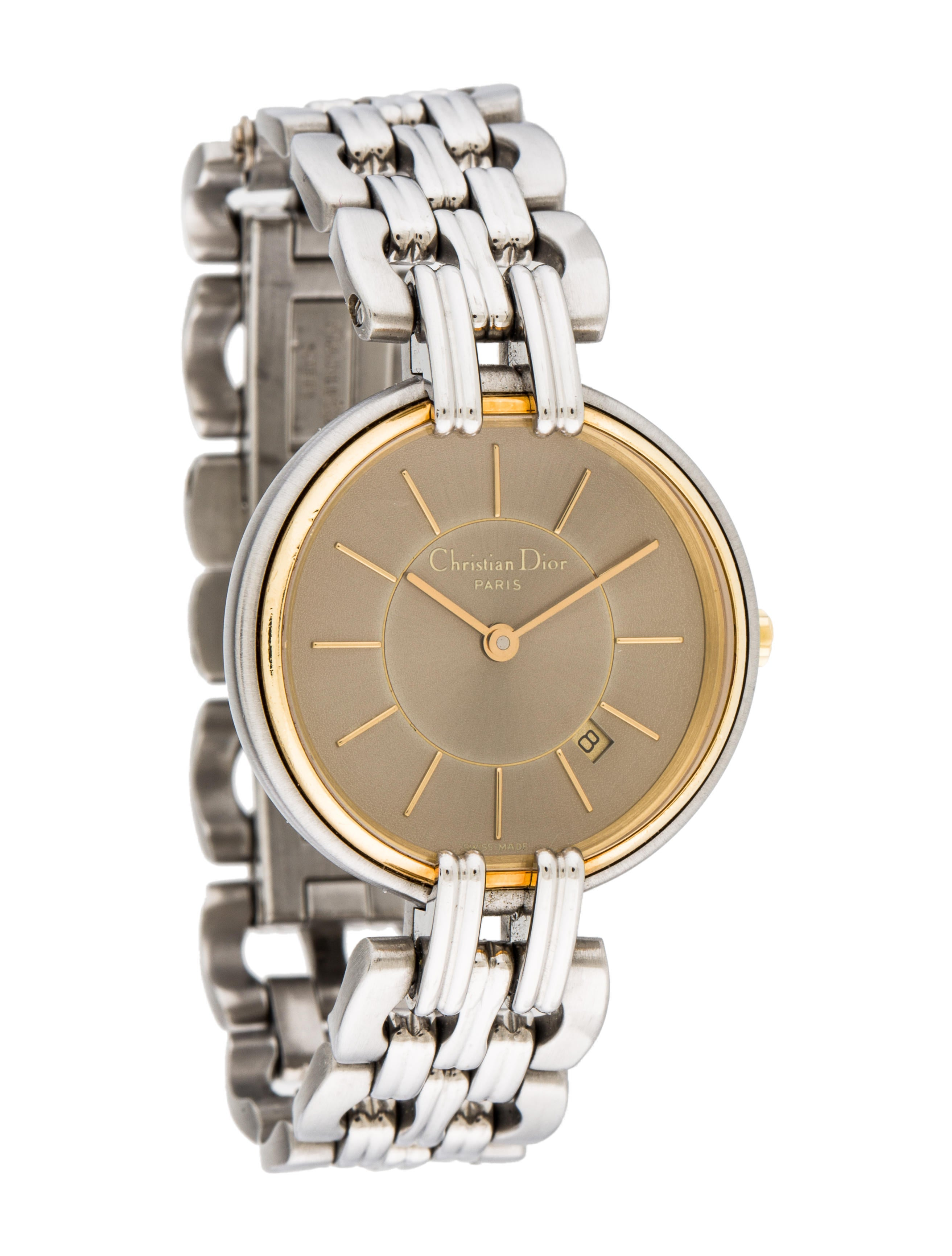 Christian dior watch bracelet chr57789 the realreal for Christian dior watches