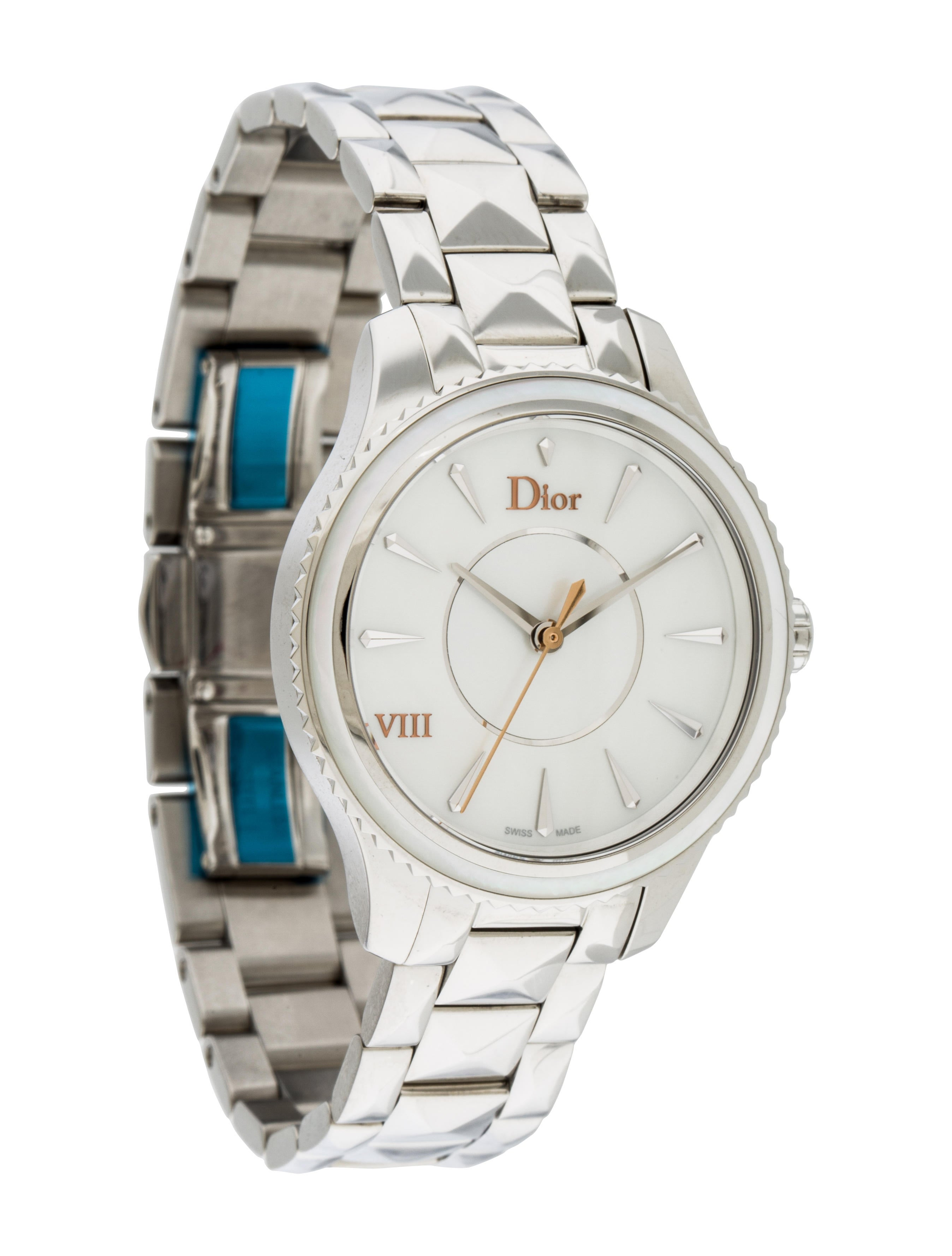 Christian dior viii montaigne watch bracelet chr58059 the realreal for Christian dior watches