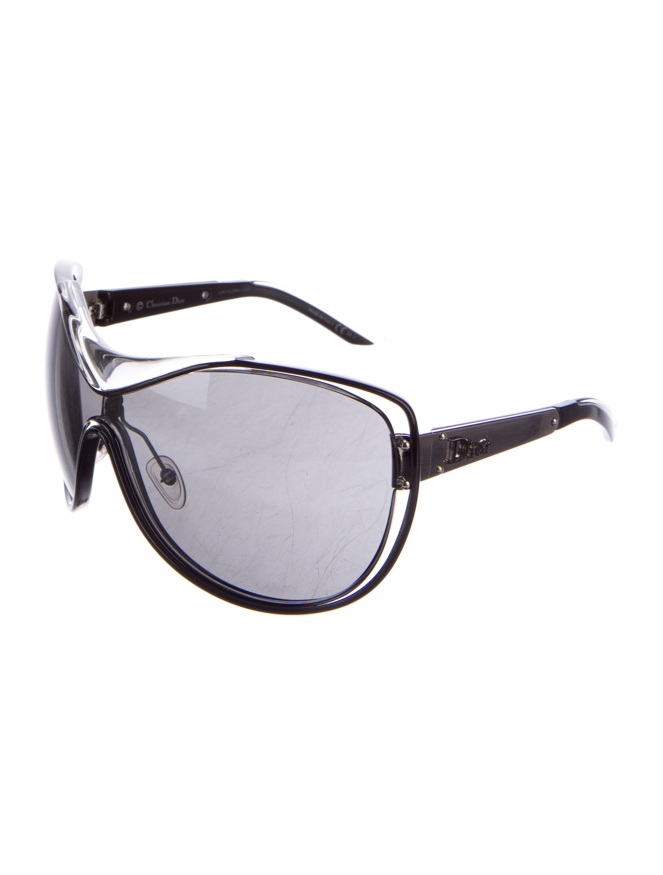 bca387a6d9 Christian Dior Tinted Shield Sunglasses - Accessories - CHR58171