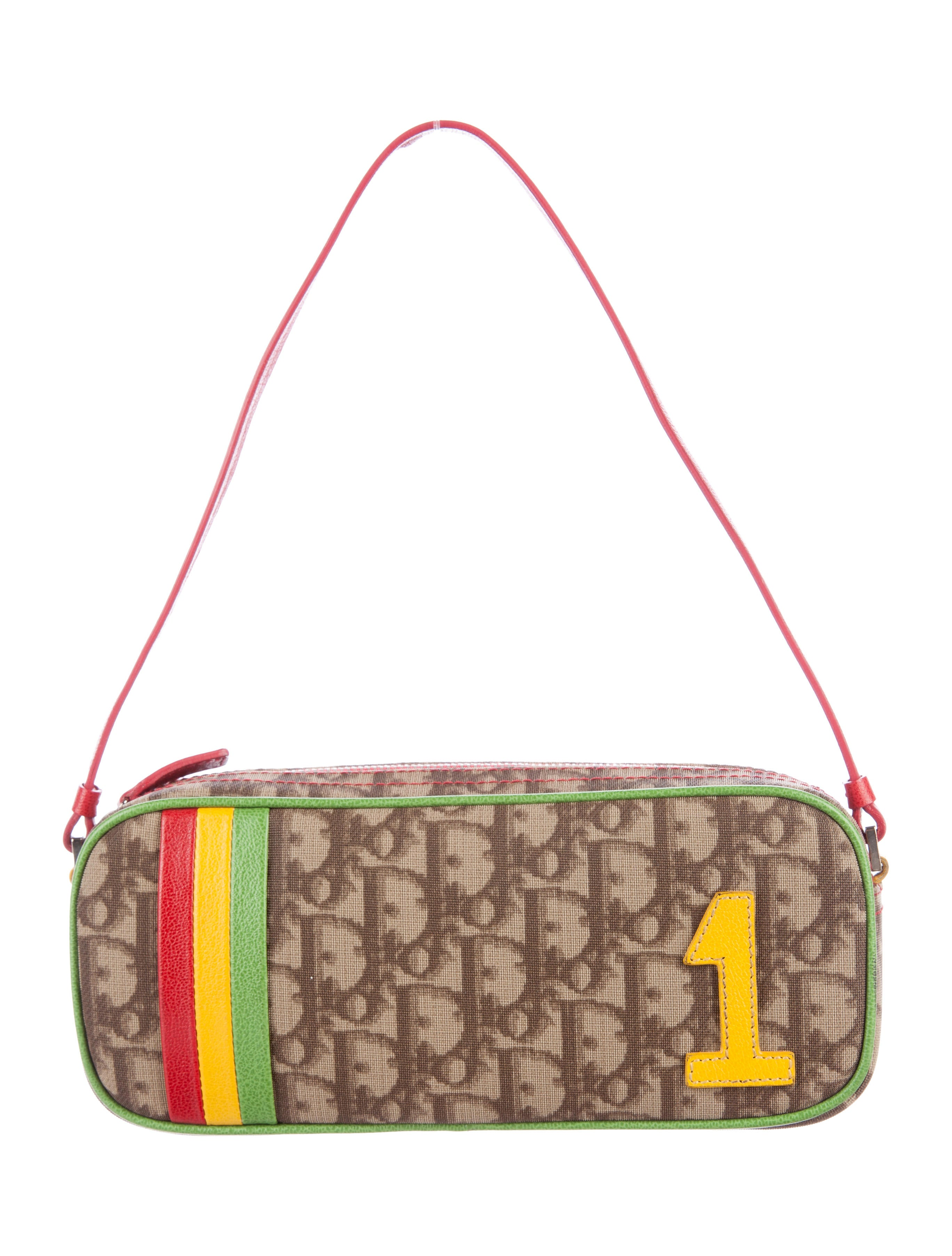 6dfbd53695d9 Christian Dior Oblique Mini Rasta Trotter Bag - Handbags - CHR58236 ...