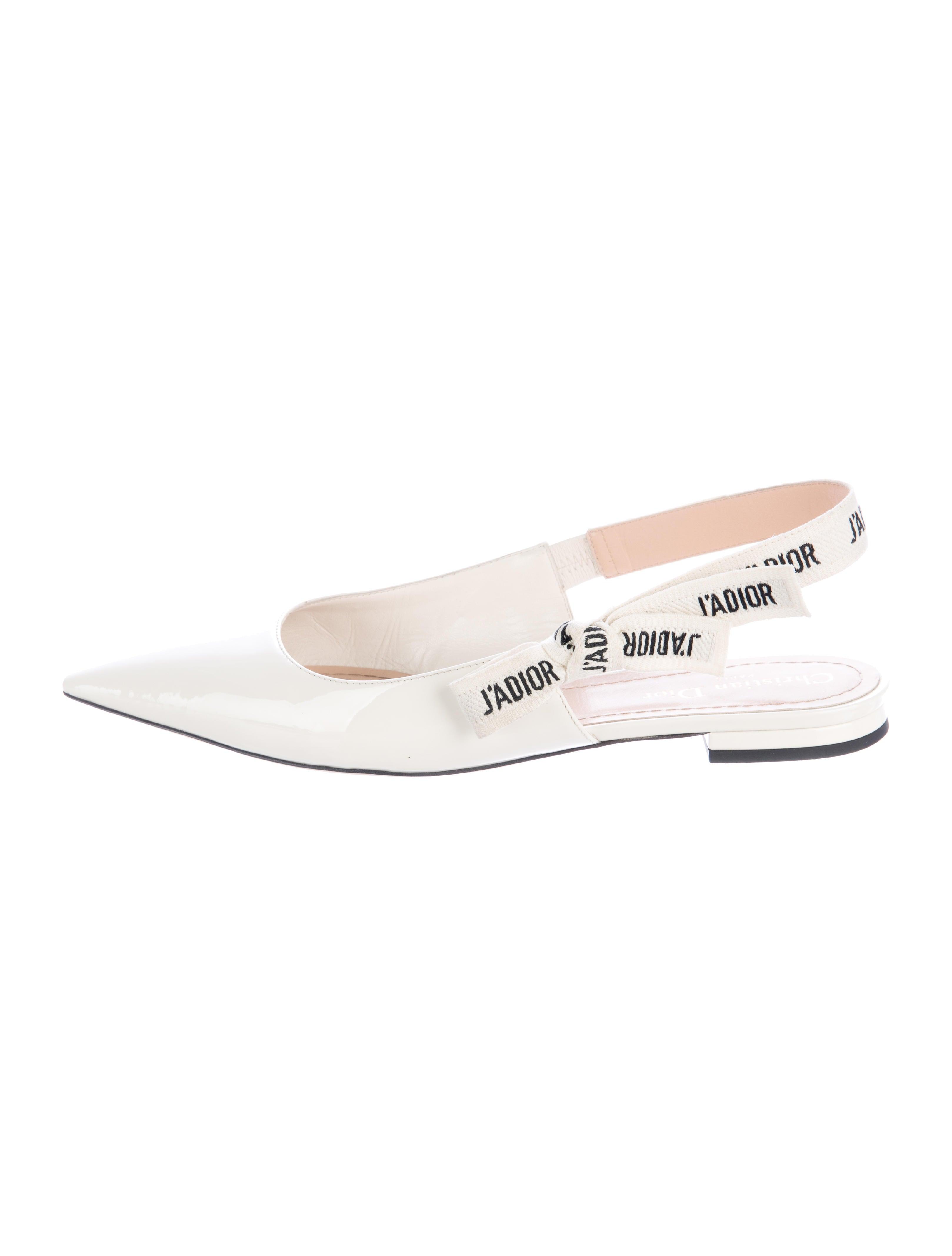 45d1a034b5 Christian Dior 2017 J'adior Slingback Flats - Shoes - CHR58441 | The ...