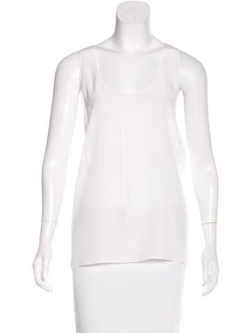 Christian Dior Silk Sleeveless Top None