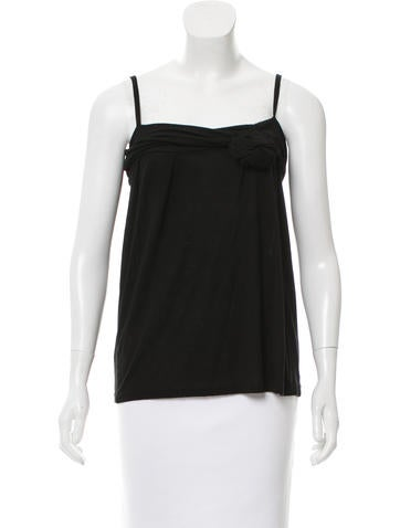 Christian Dior Sleeveless Knit Top None