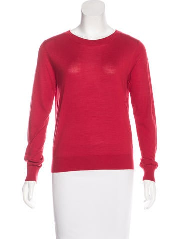 Christian Dior Wool & Silk-Blend Sweater None