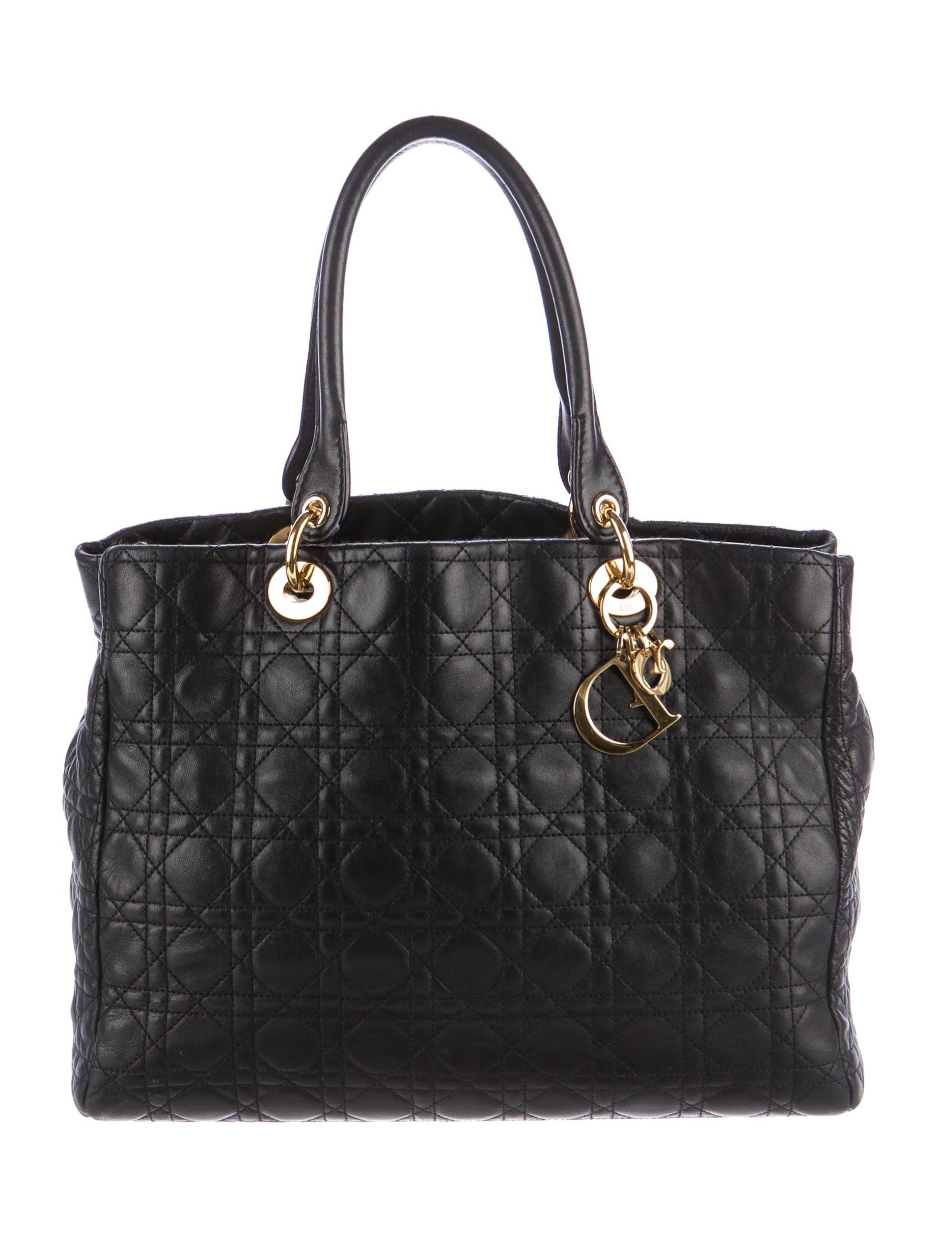 Christian Dior Soft Lady Dior Tote - Handbags - CHR59225 ...