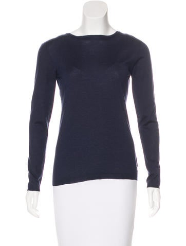 Christian Dior Cashmere & Silk Sweater None