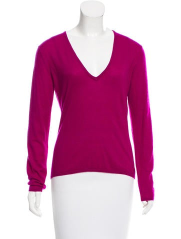 Christian Dior Cashmere V-Neck Sweater None
