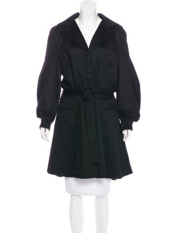 Christian Dior Vintage Cashmere Coat None