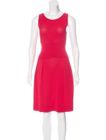 Christian Dior Knit A-Line Dress None
