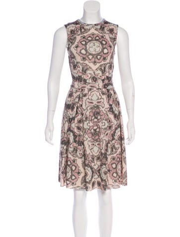Christian Dior Wool Knee-Length Dress None