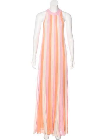 Christian Dior Striped Maxi Dress w/ Tags None