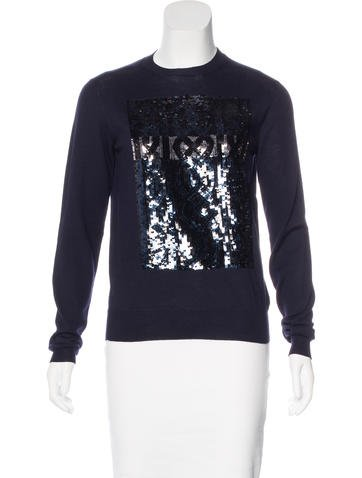 Christian Dior Wool Embroidered Sweater None