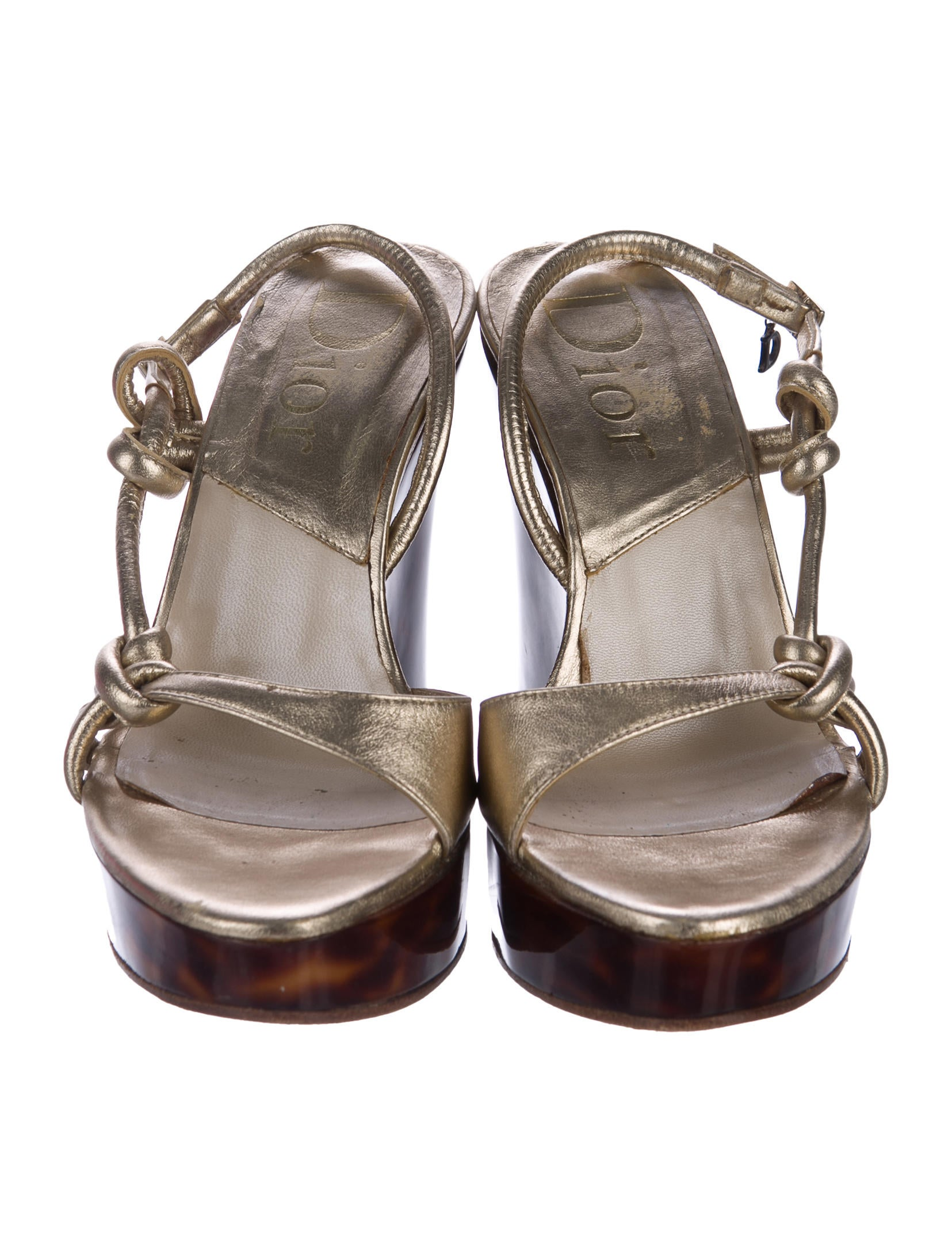 christian metallic wedge sandals shoes chr60831