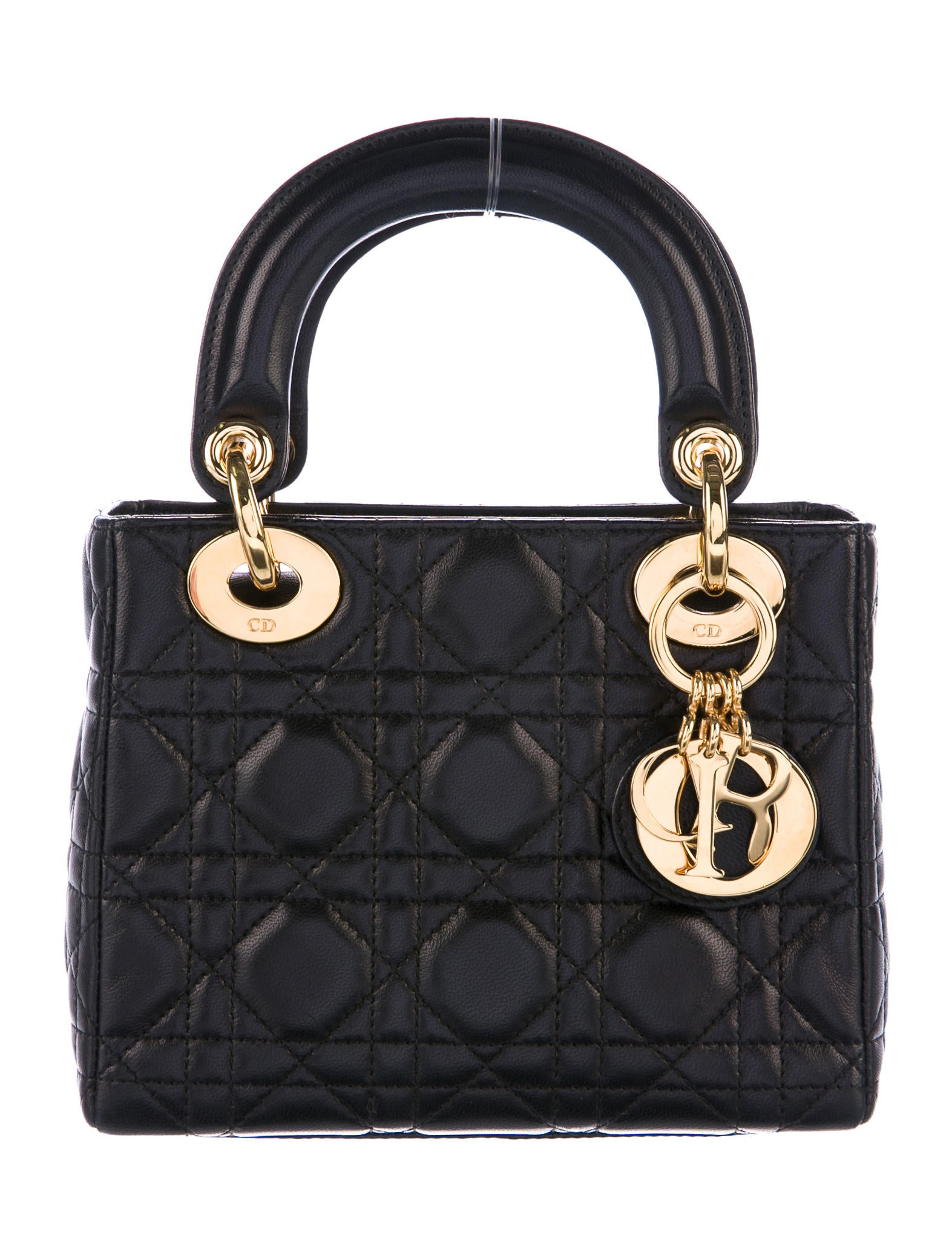 Christian Dior Vintage Mini Lady Dior Bag Handbags