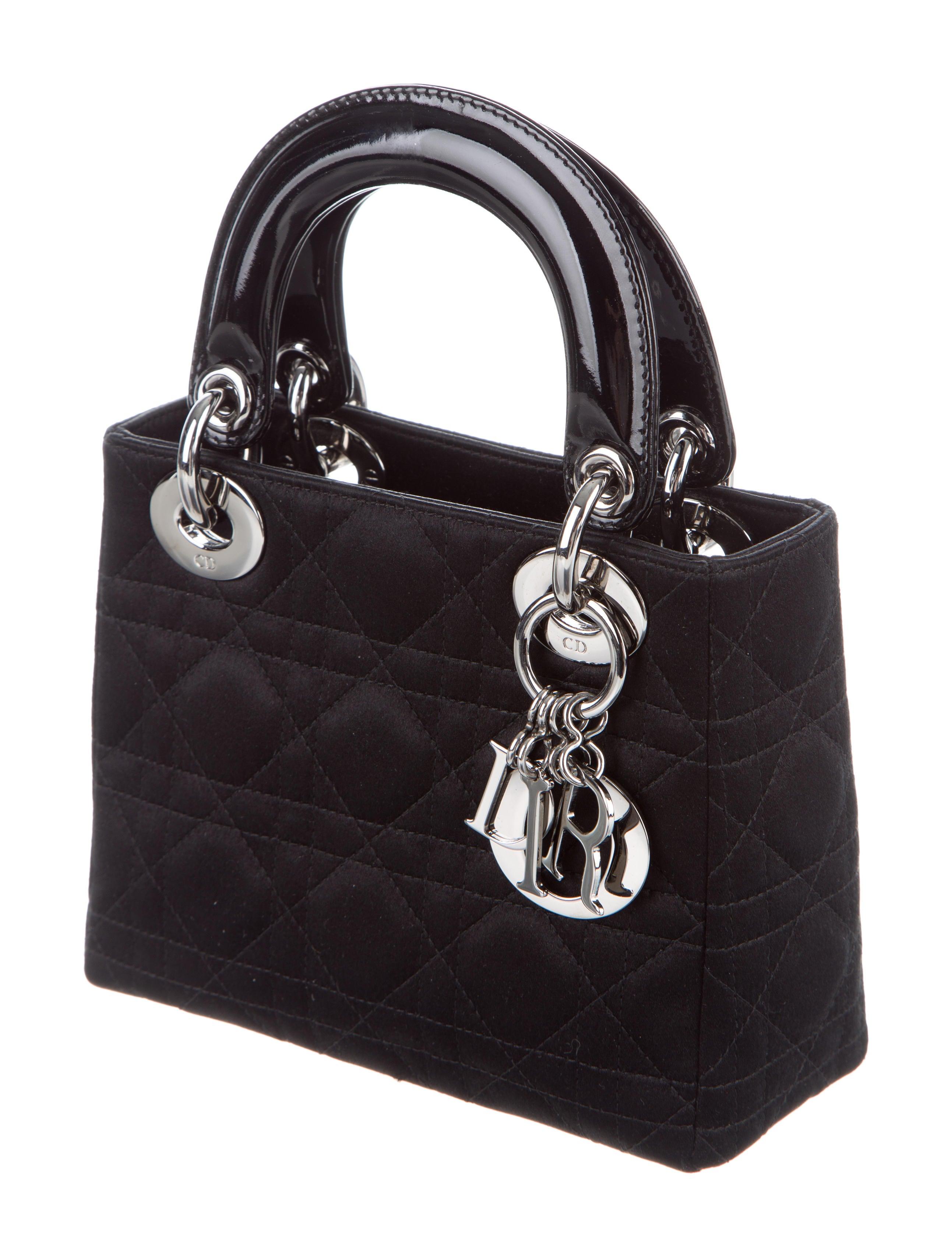 Christian Dior Micro Cannage Lady Dior Bag Handbags