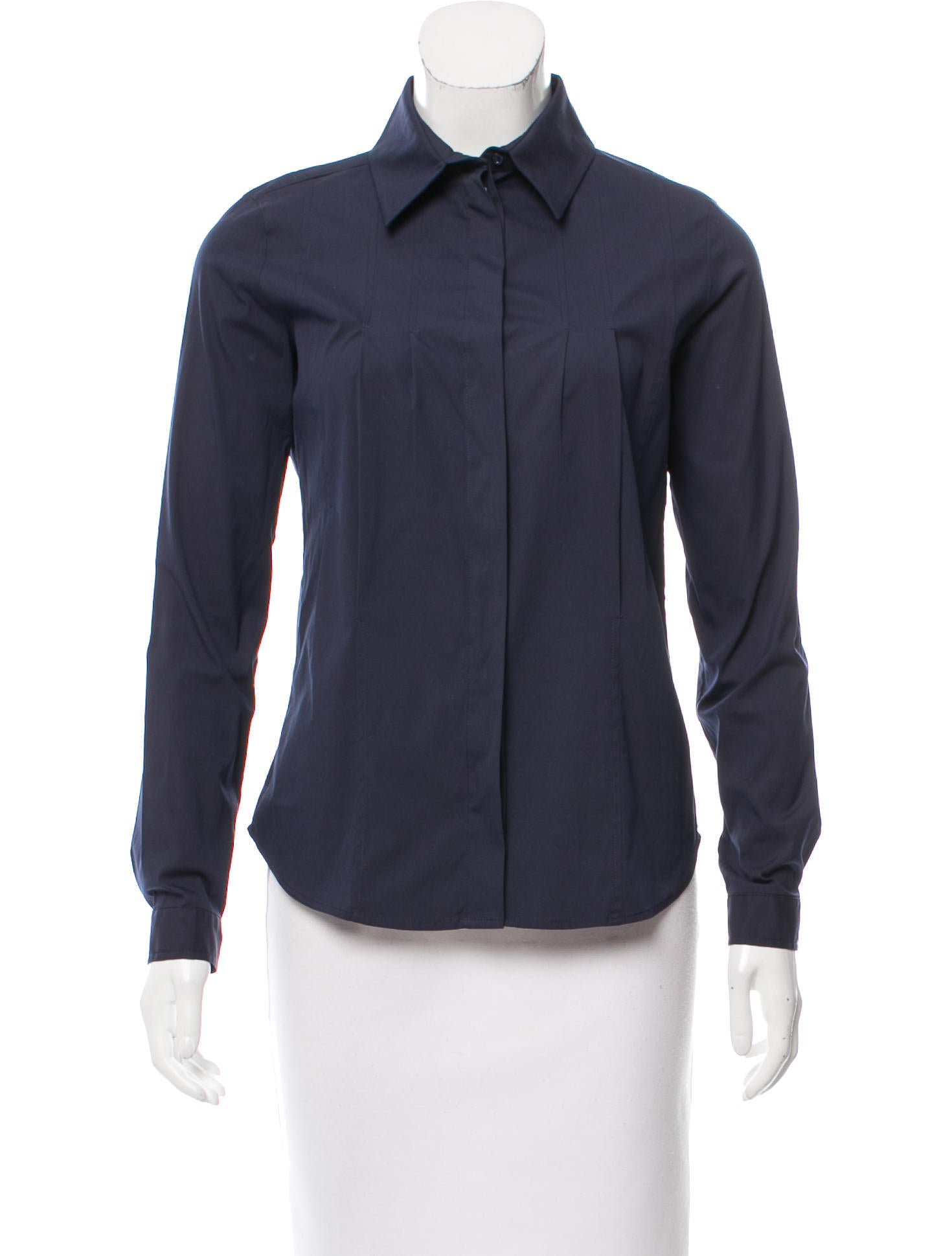 Christian dior button up long sleeve top clothing for Christian dior button up shirt