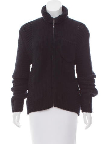 Christian Dior Cashmere Knit Jacket None