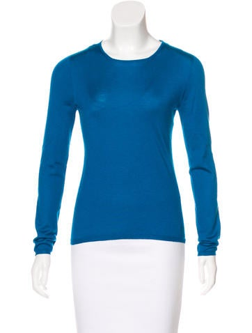 Christian Dior Cashmere Long Sleeve Sweater None
