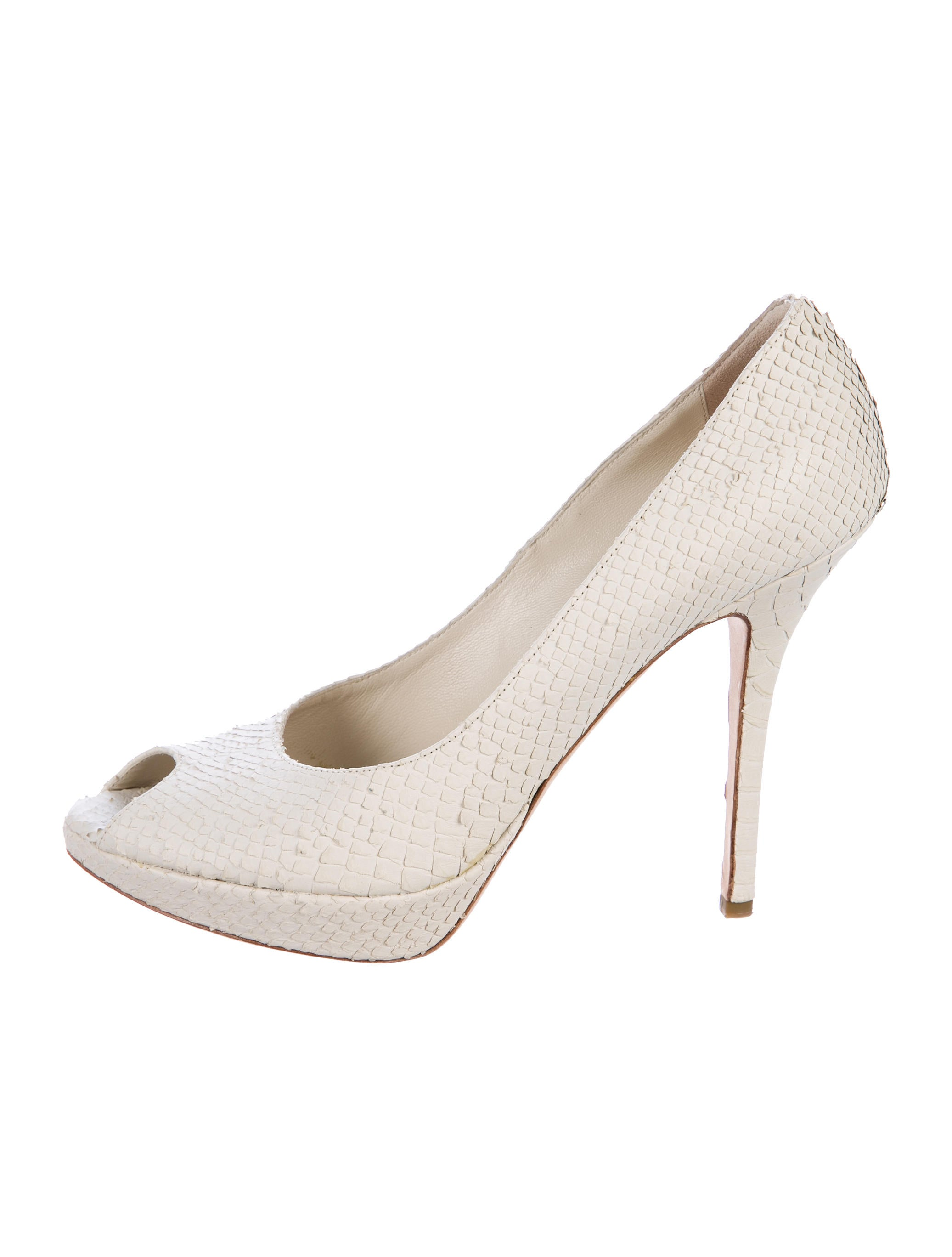 Christian Dior Snakeskin Pointed-Toe Pumps outlet footlocker pictures lowest price cheap online wiki for sale cheap sale low cost 1rDVmR