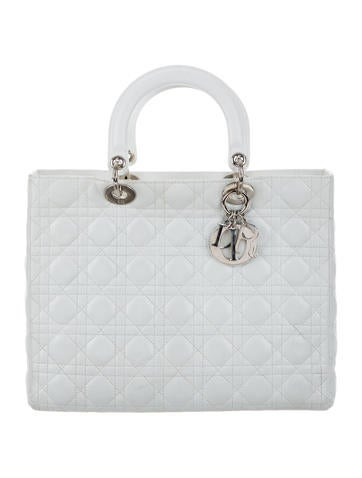 Christian Dior Large Lady Dior Bag None