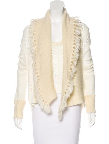 Christian Dior Mohair-Blend Knit Cardigan Set None