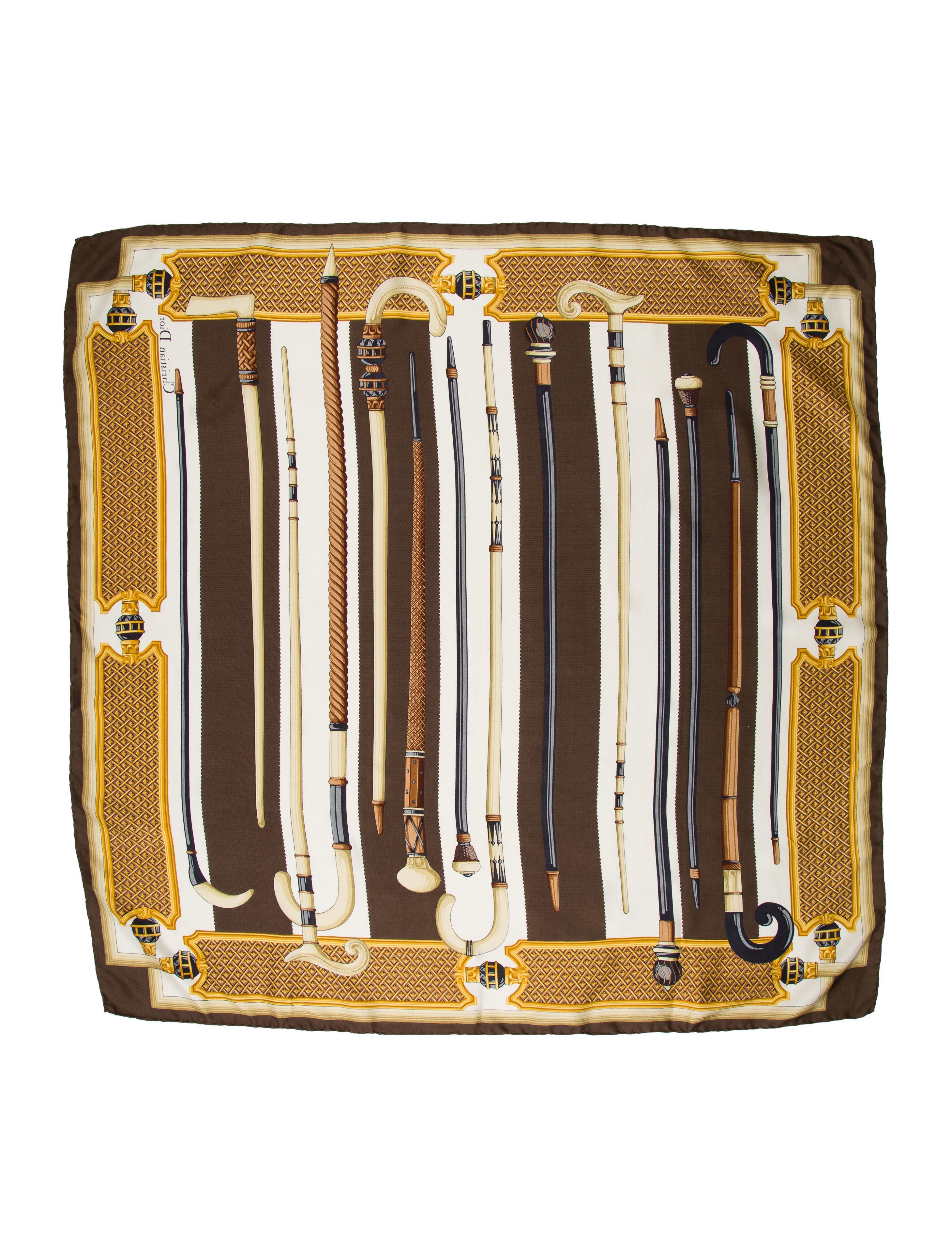 christian printed square scarf accessories