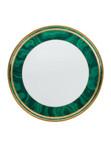 Christian Dior Gaudron Malachite Dinner Plate None