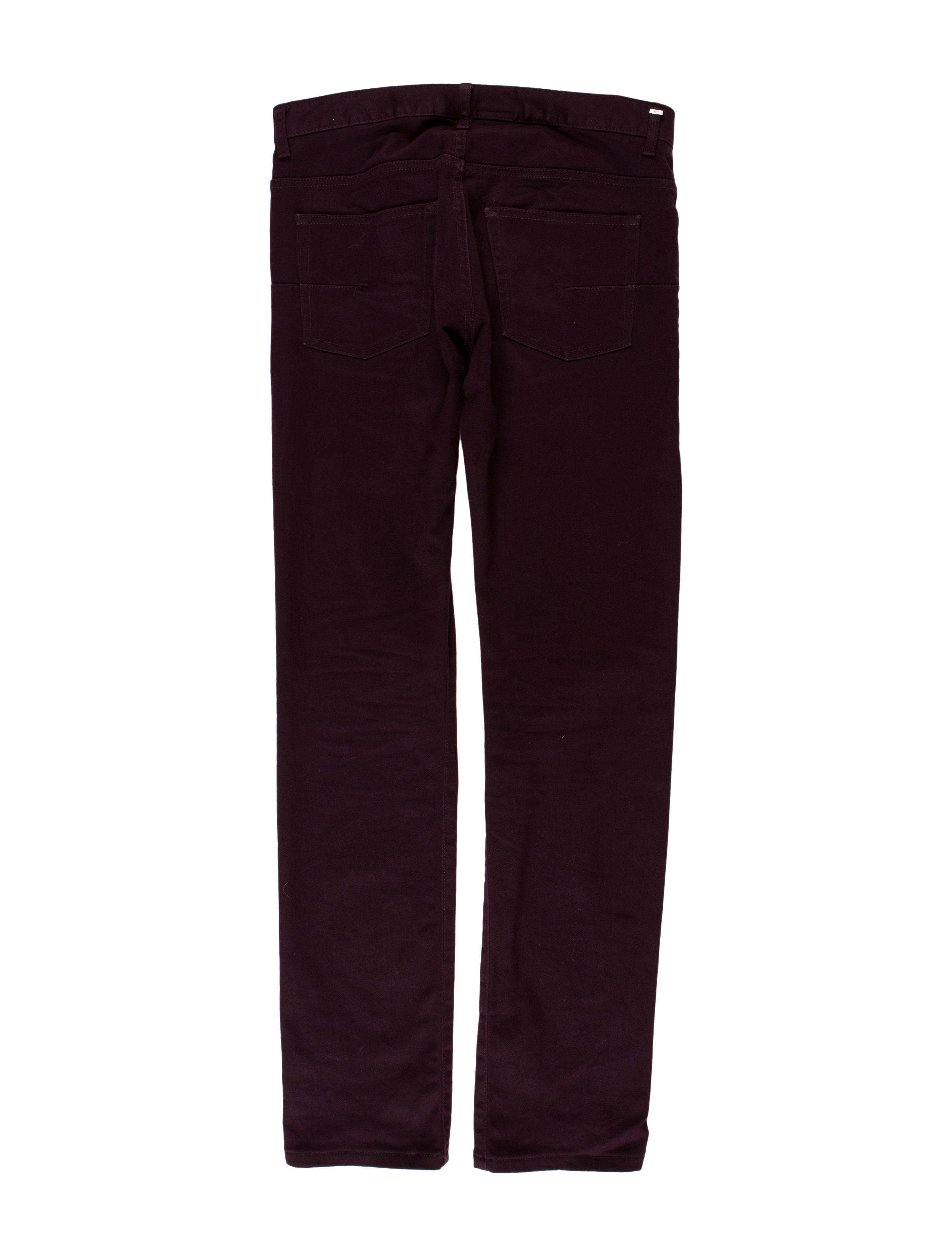 dior homme 2008 slim fit jeans clothing chr62953 the realreal. Black Bedroom Furniture Sets. Home Design Ideas