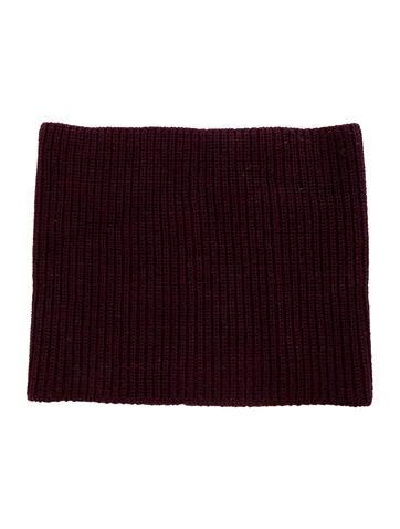 Christian Dior Rib Knit Wool Headband None