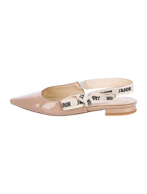 63cd3aee8e Christian Dior 2017 J'Adior Slingback Flats - Shoes - CHR63019 | The ...