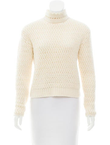 Christian Dior Cashmere & Wool-Blend Sweater None