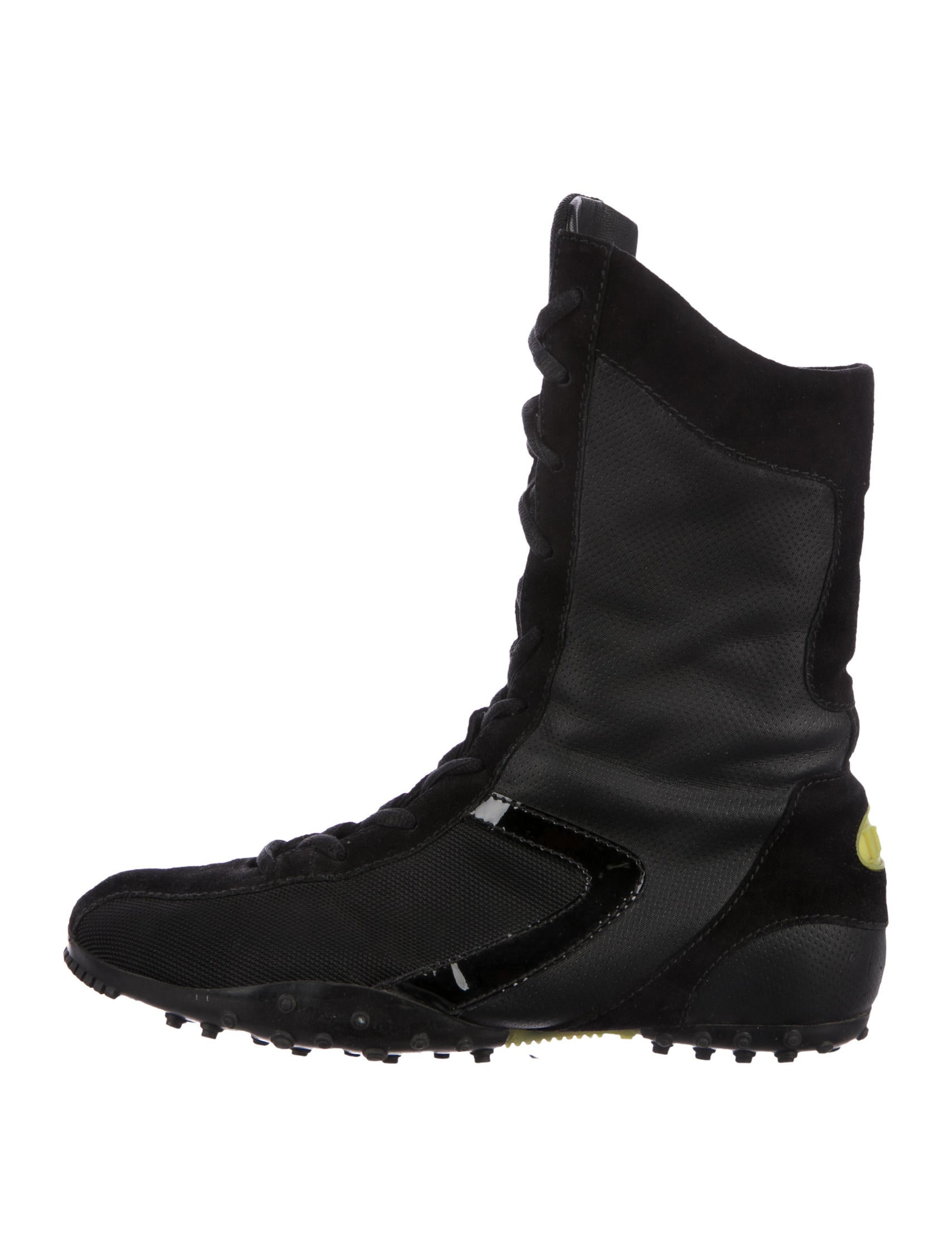 Christian Dior Suede Wrestling Boot really cheap how much free shipping how much enjoy cheap price Zv8FDJF