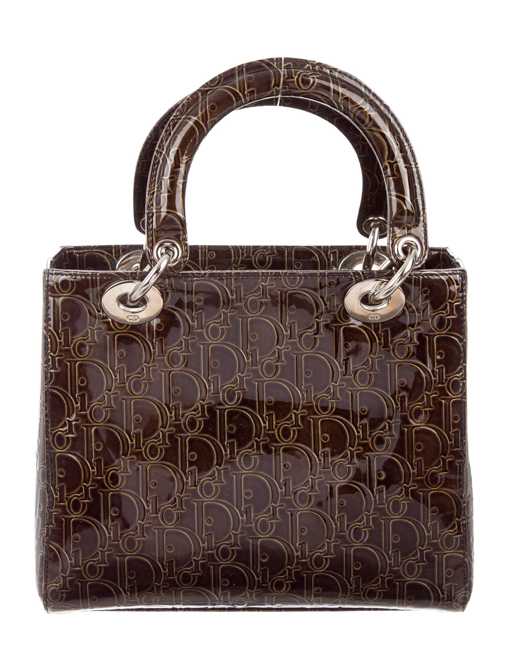 Christian Dior Medium Diorissimo Lady Dior - Handbags ...