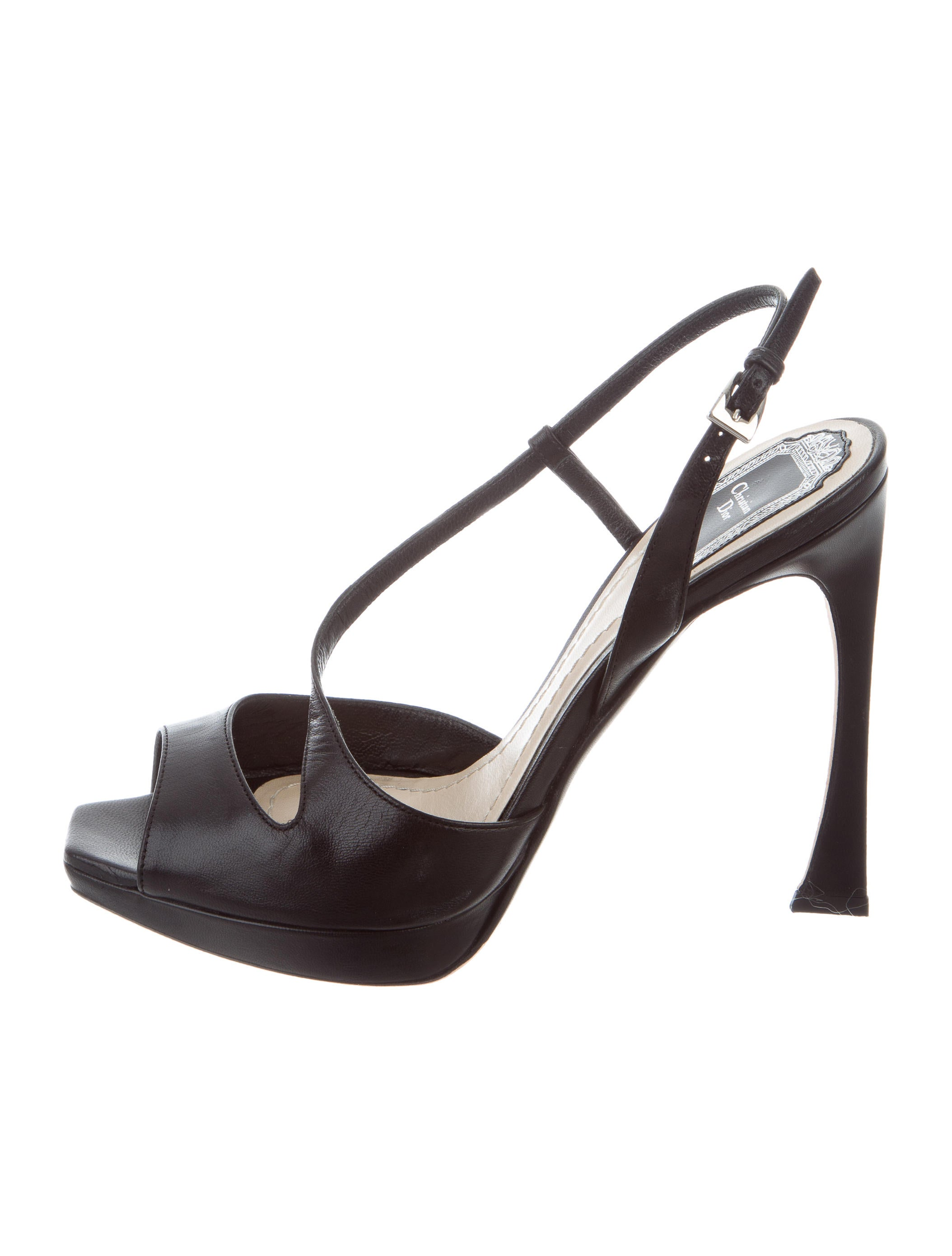 with mastercard cheap price Christian Dior Songe Leather Sandals cheap perfect visit online K1xuxT
