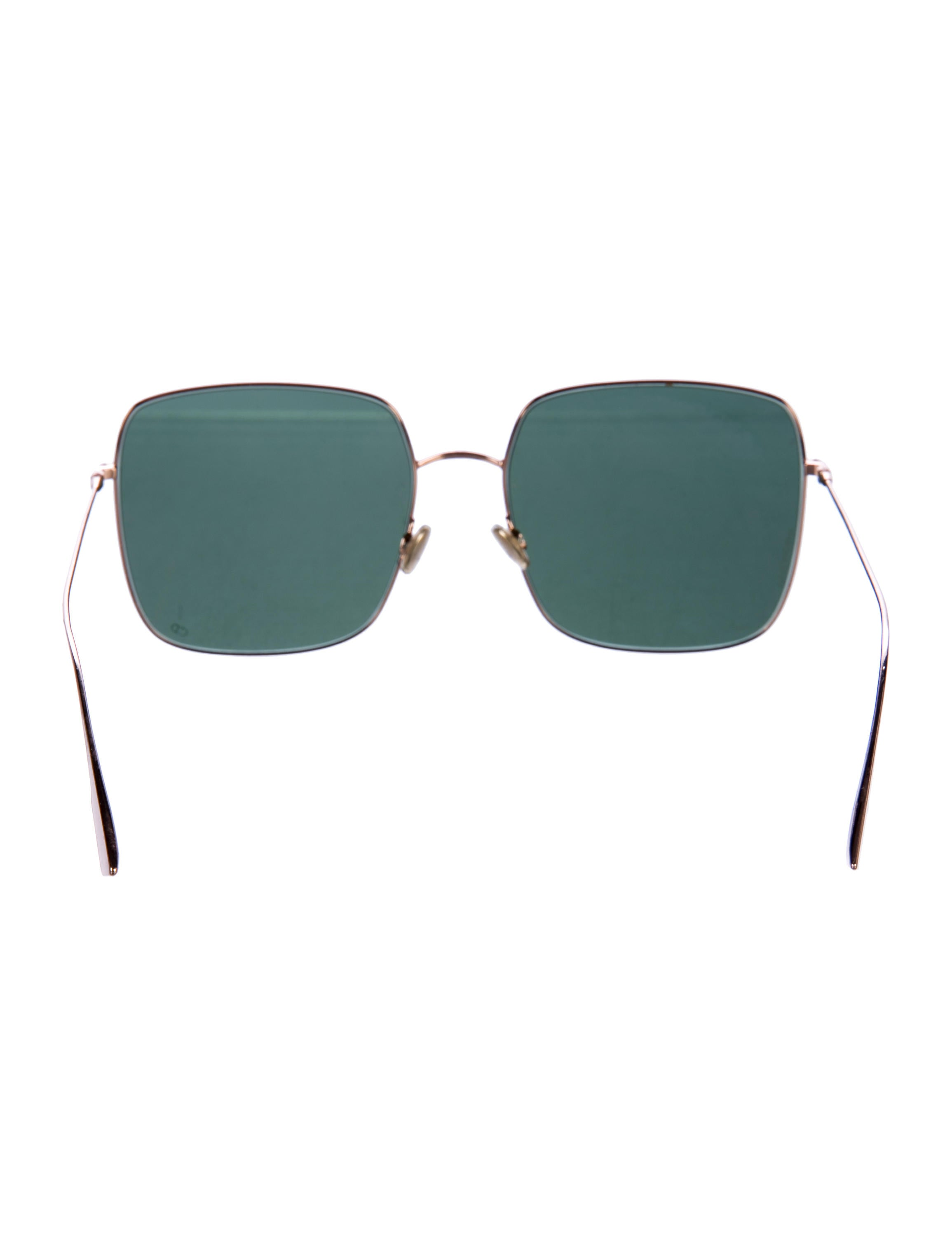 New DIO r Square Oversized stellaire5 Sunglasses for men or Women - green Ogyg1