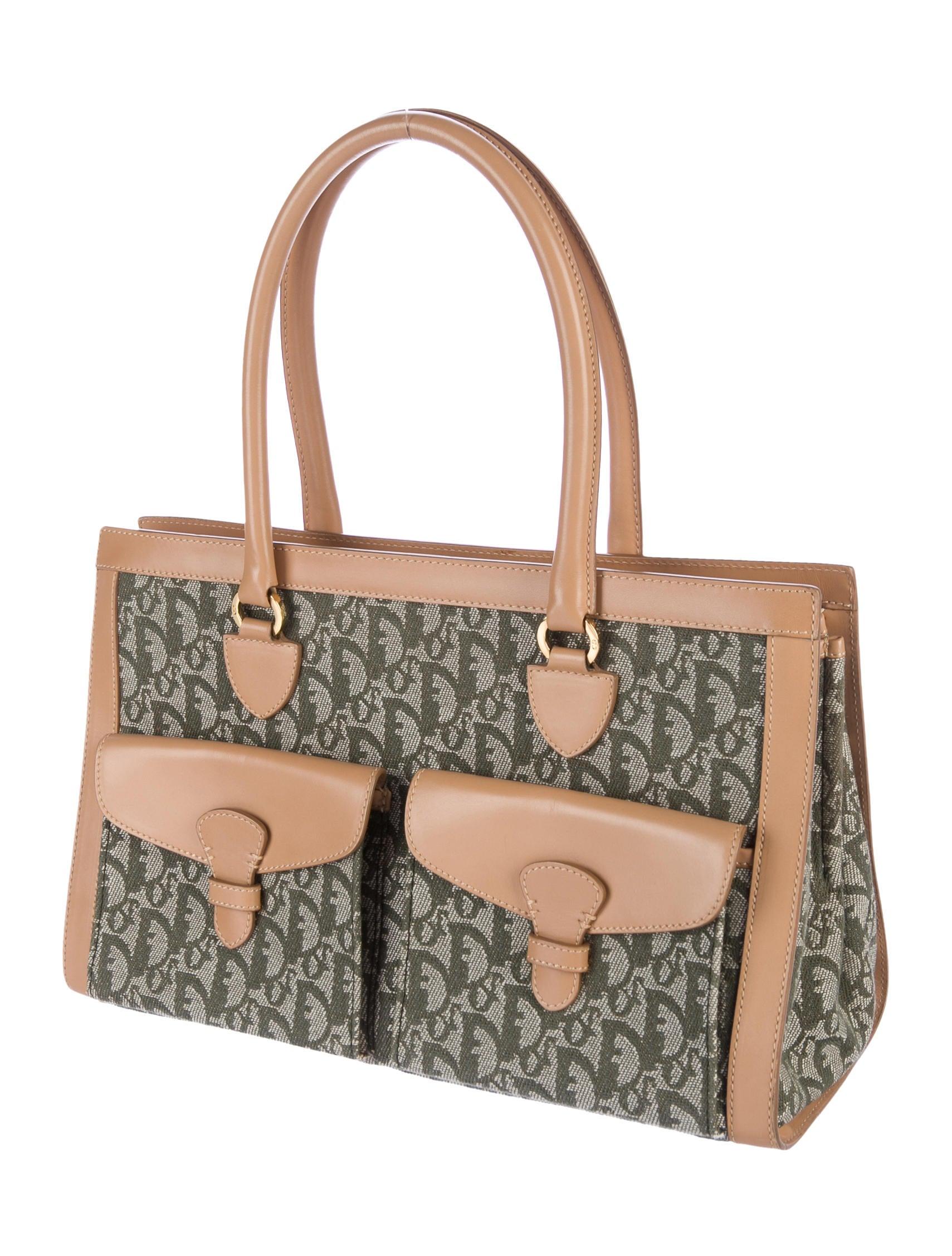 Christian Dior Diorissimo Medium Tote - Handbags ...