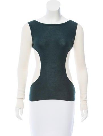 Christian Dior Cashmere Colorblock Sweater None